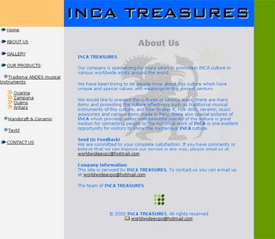 INCA TREASURE LLC